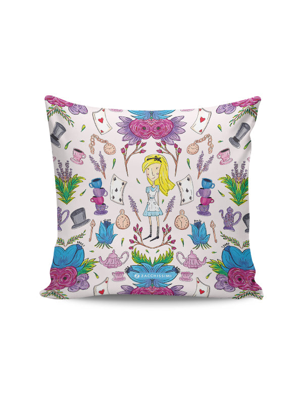 Wonderlust | Alice in Wonderland Inspired Cushion Throw Pillow Home Decor