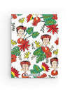 Frida Kahlo Inspired Hardcover Journal Notebook | Tropicalia