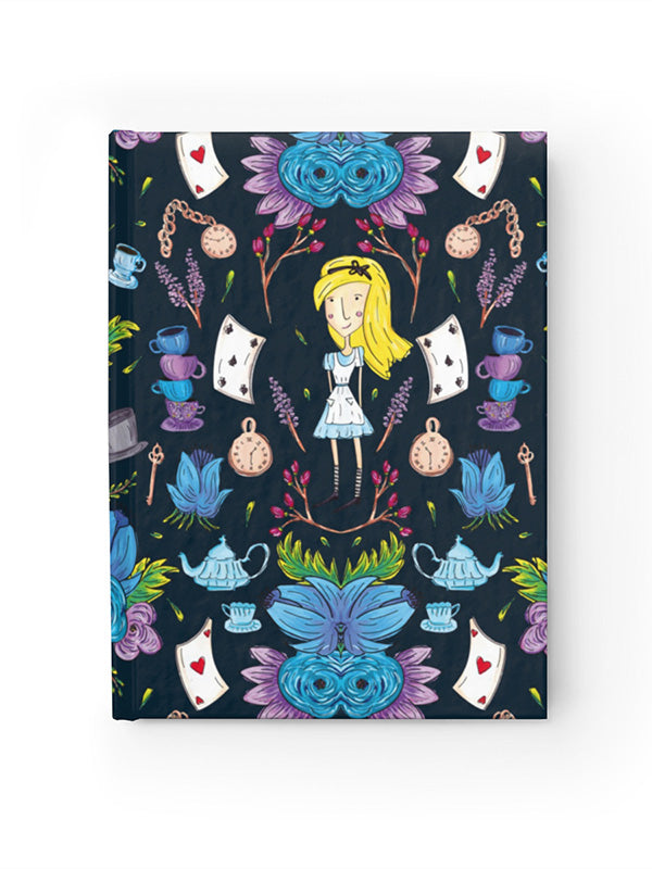 Wonderlust | Alice in Wonderland Inspired Hardcover Journal Notebook