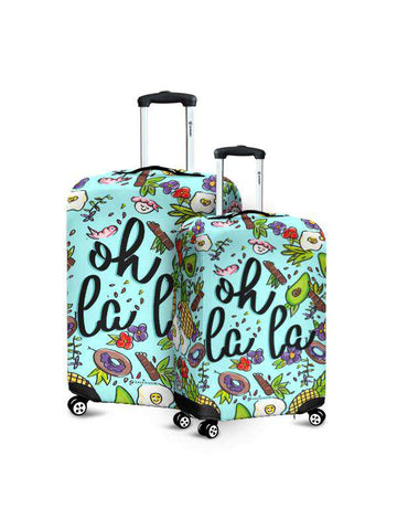 Luggage Cover | Oh La La
