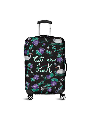 Luggage Cover | First Coffee