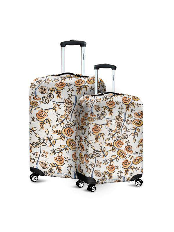 Luggage Cover | Free as a Bird Flowers