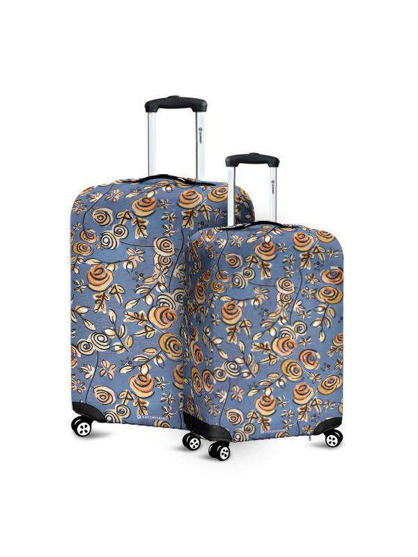 Luggage Cover | Free as a Bird Blue