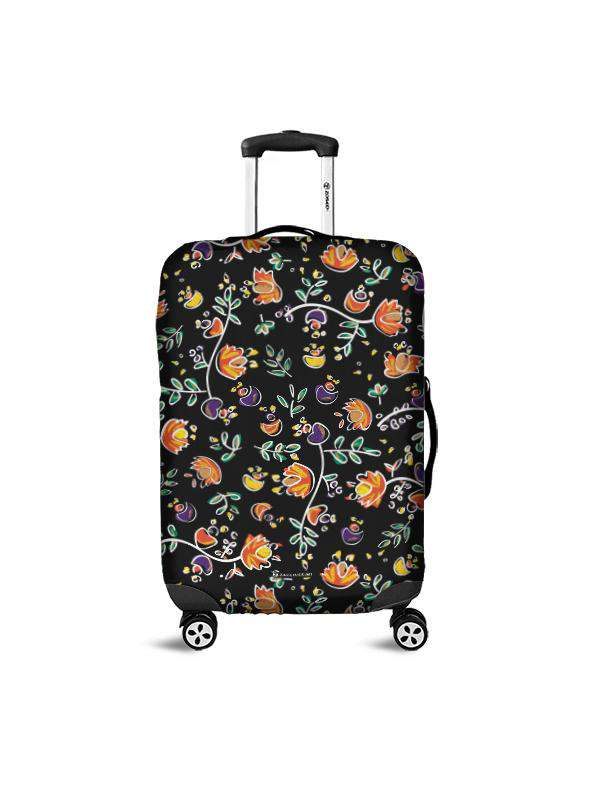 Luggage Cover | Good Vibes Black, , Zacchissimi, pattern, design