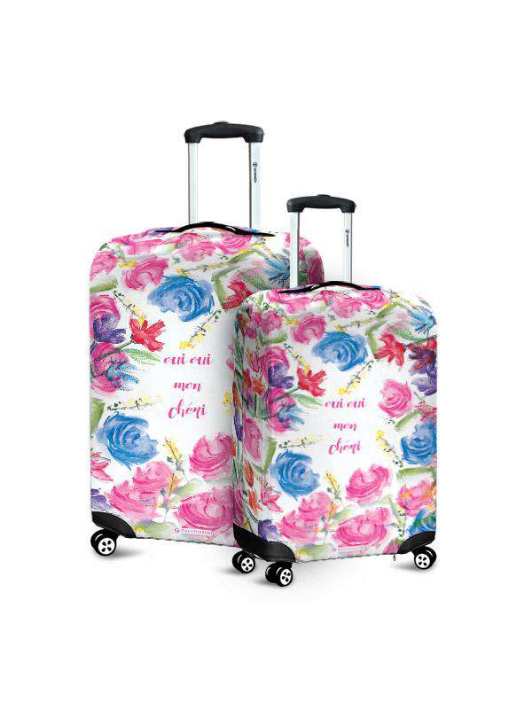 Luggage Cover | Oui Oui, , Zacchissimi, pattern, design