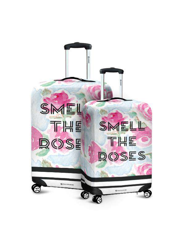 Luggage Cover | Smell The Roses