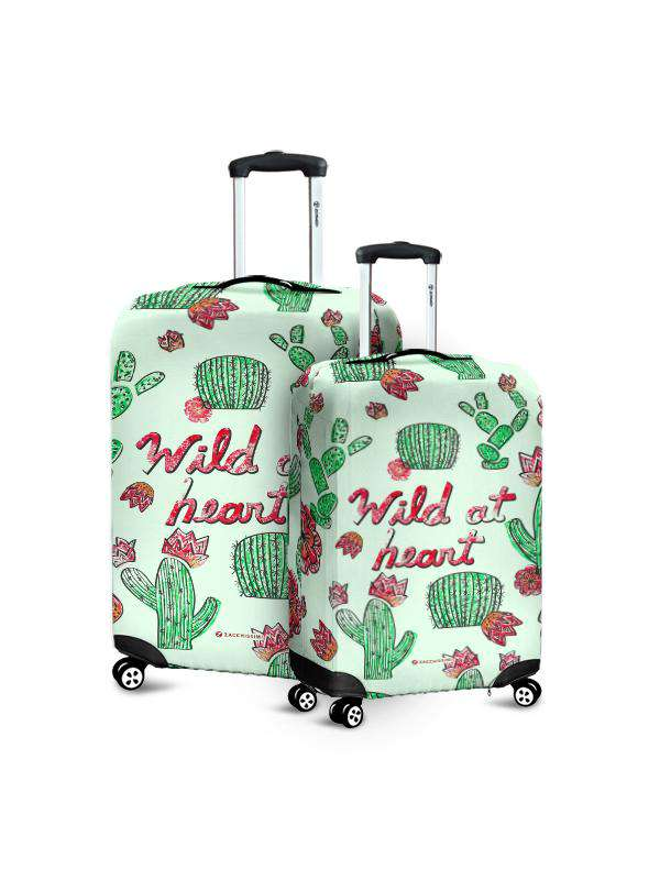 Luggage Cover | Wild at Heart