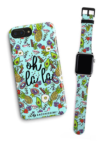 Kit Phone Case & Watch Strap | Wonderlust Pink