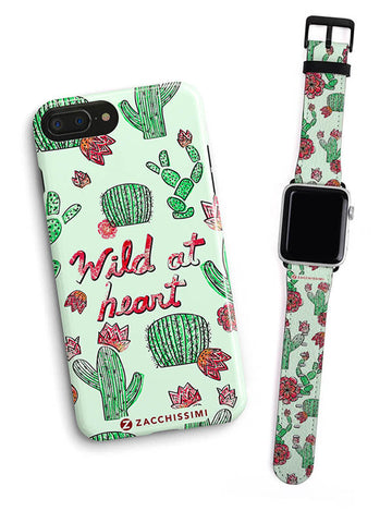 Kit Phone Case & Watch Strap | Good Vibes Black