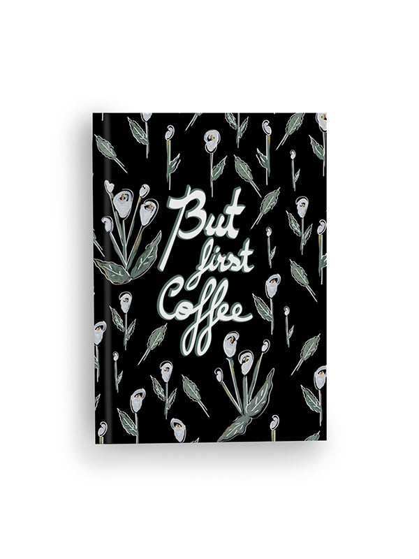 Zacchissimi notebook journal hardcover first coffee