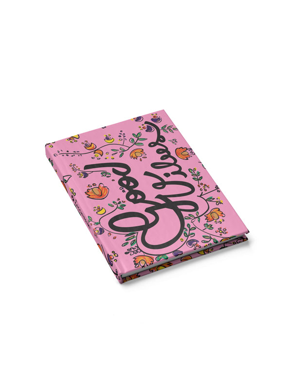 Notebook - Good Vibes Pink, Notebooks, Zacchissimi, pattern, design