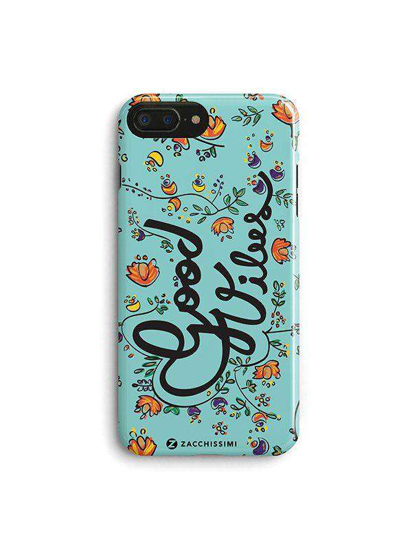 Phone Case – Good Vibes Green