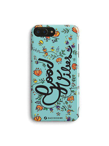 Phone Case – Good Vibes Blue