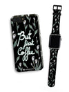 Kit Phone Case & Watch Strap | Oui Oui Black