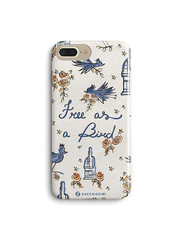 Phone Case - Free as a Bird - Blue
