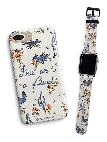 Kit Phone Case & Watch Strap | Free as a Bird