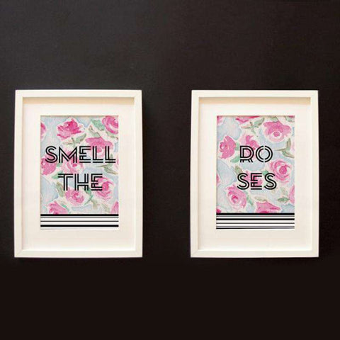 Wall Art - Smell The Roses