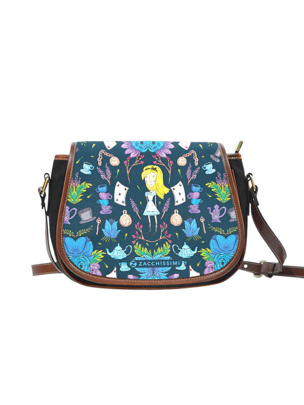 Saddle Bag | Wonderlust Blue