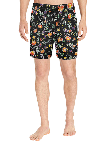 Swim Shorts | Good Vibes Black