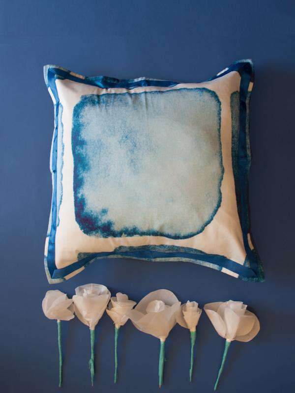 Throw Pillow - Azzurre