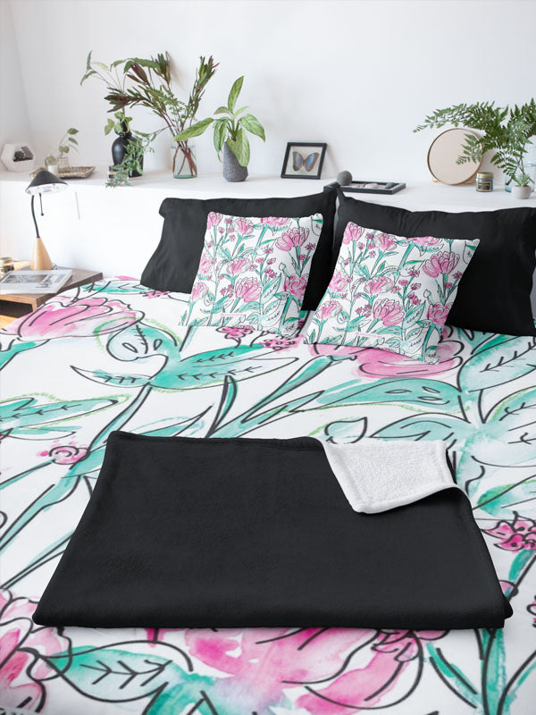 Duvet Cover | Carnation