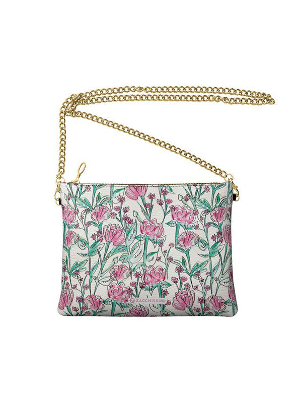 Leather Bag | Carnations