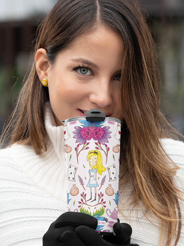 Wonderlust | Alice in Wonderland Inspired Thermal Travel Mug