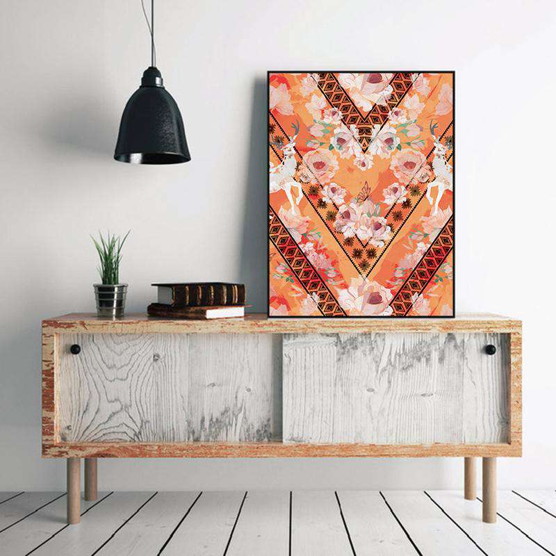 Wall Art - Aztec