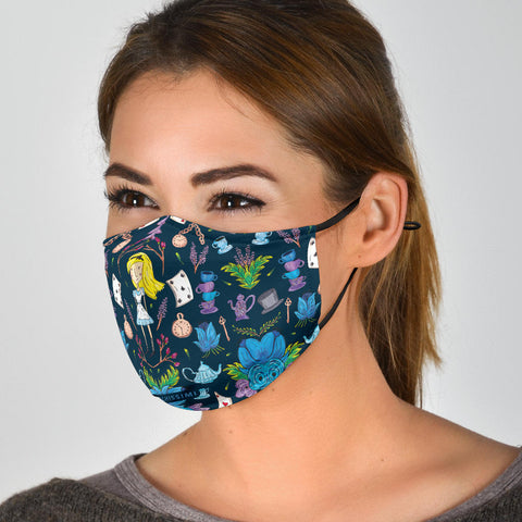 Face Mask | Wonderlust Blue