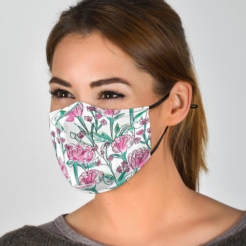 Face Mask | Carnation