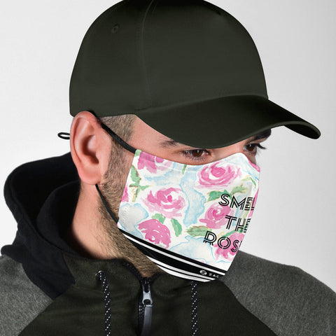 Face Mask | Smell the Roses