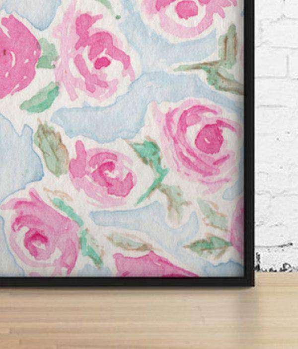 Wall Art - Fuchsia