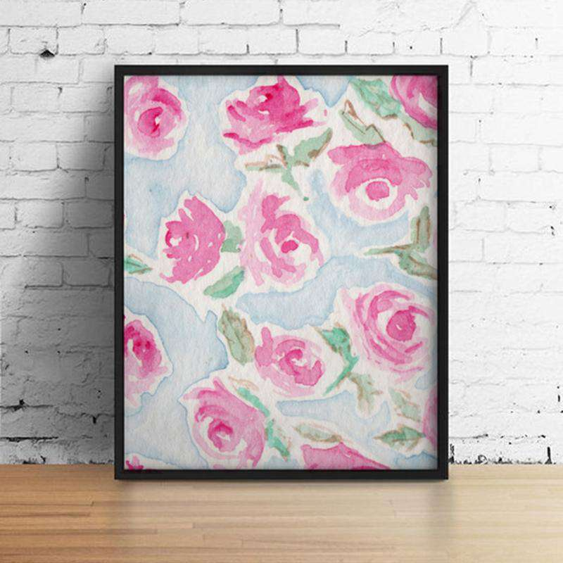 Wall Art - Fuchsia, , Zacchissimi, pattern, design