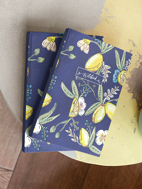 Notebook journal lemon amalfi