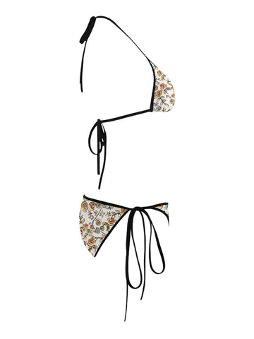Trikini with Face Mask | Free as a Bird Beige
