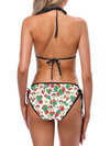 Frida Kahlo Inspired Trikini, Bikini with Matching Face Mask | Tropicalia