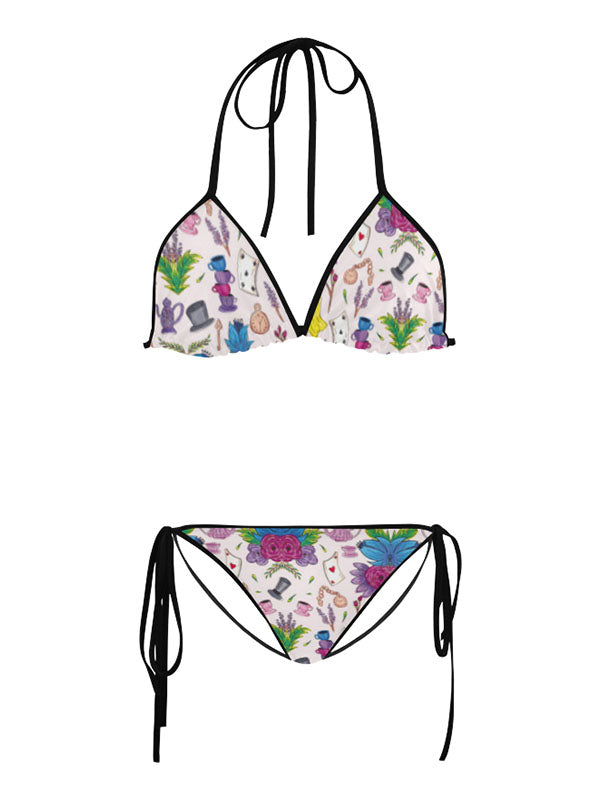 Wonderlust | Alice in Wonderland Inspired Swimwear Floral Bikini
