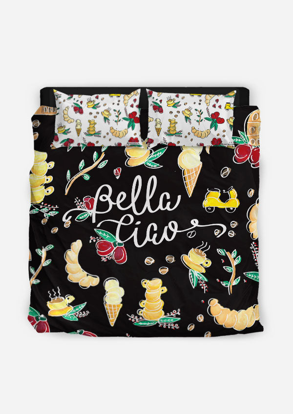 Duvet Cover | Bella Ciao Black