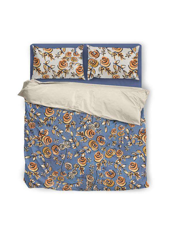 Duvet Cover | Free as a Bird Flowers