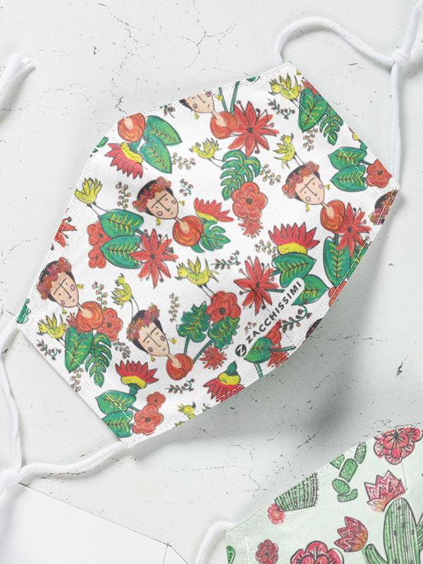 Frida Kahlo Inspired Bedding Face Mask | Tropicalia