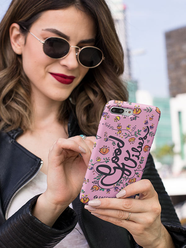 Phone Case - Good Vibes Pink