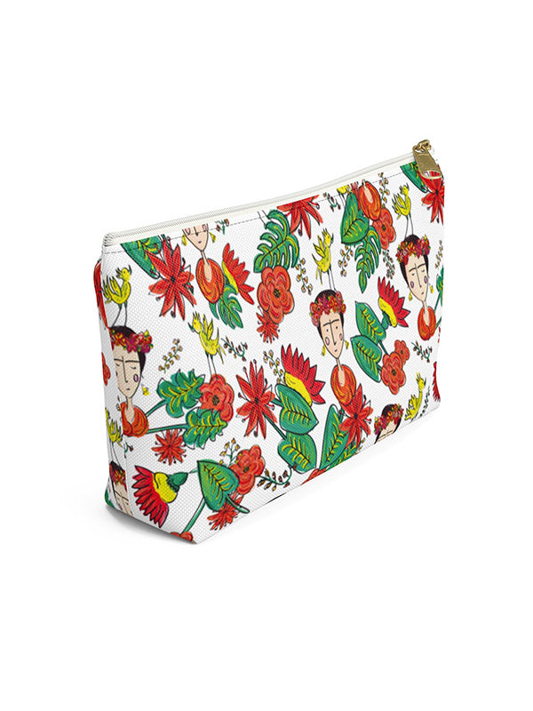 Frida Kahlo Inspired Wash Bag Makeup Bag | Tropicalia