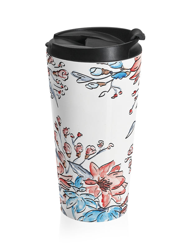 Travel Mug - Blue Breeze