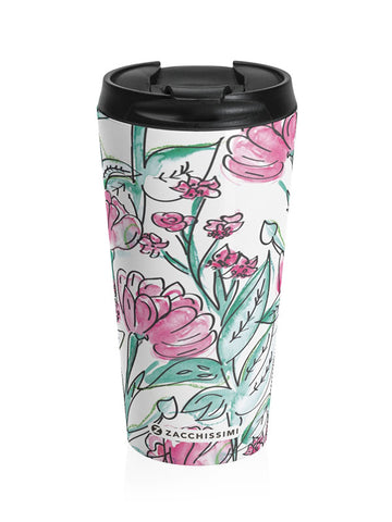 Travel Mug - Carnation