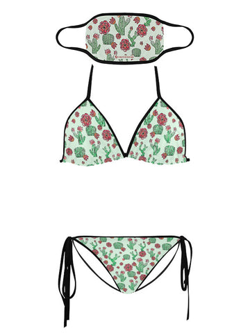 Trikini with Face Mask | Wild at Heart