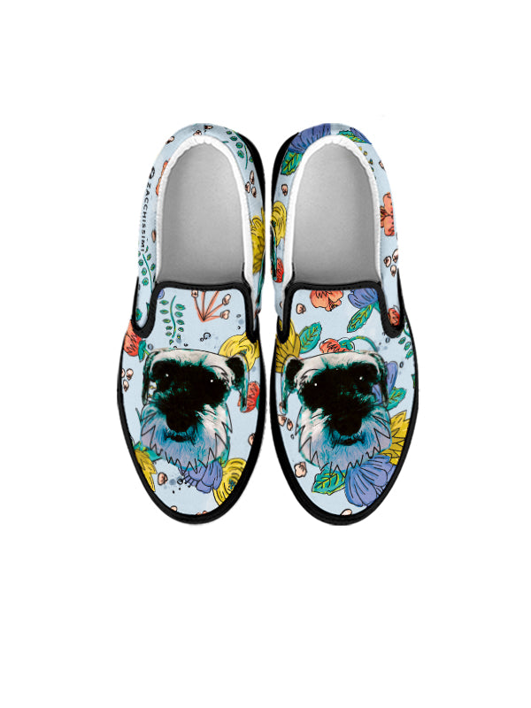 Custom personlised slip ons Dog cat shoes