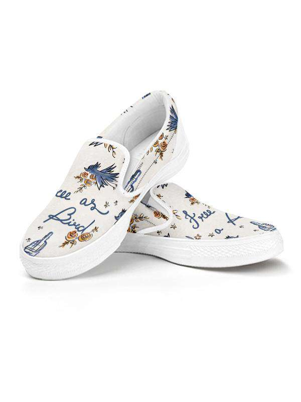 Slip Ons | Free as a Bird