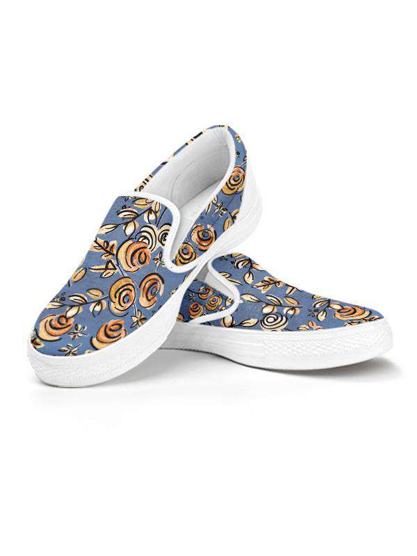 Slip Ons | Free as a Bird Blue