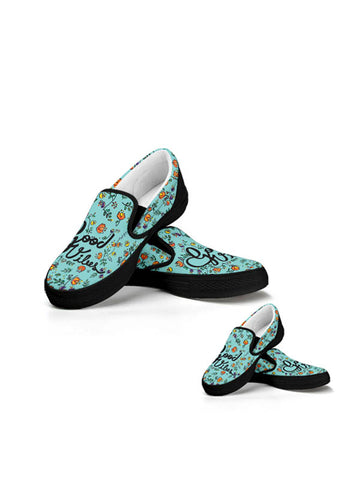 Kit Slip On Sneakers Mini Me | Bella Ciao Black
