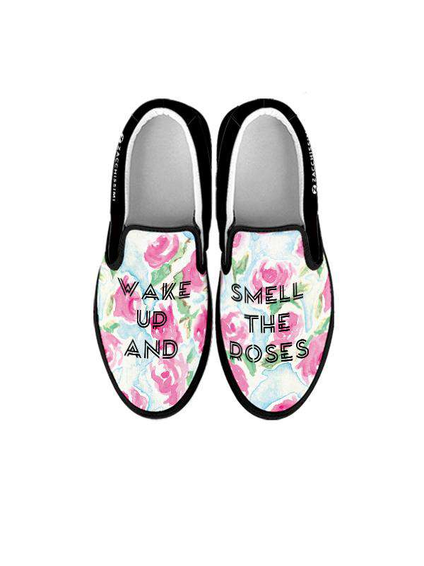 Slip On Sneakers | Smell the Roses